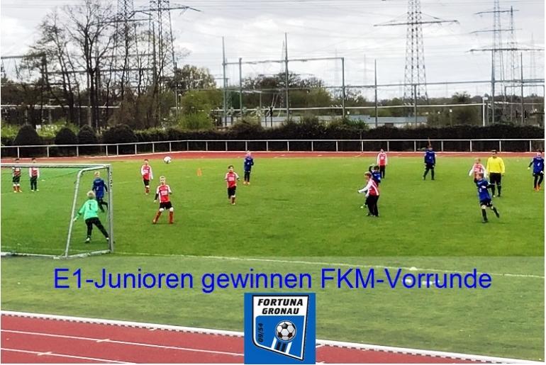 Info zur E-Junioren FKM-Vorrunde