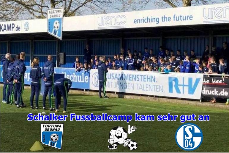 Schalker Ostercamp ein Volltreffer