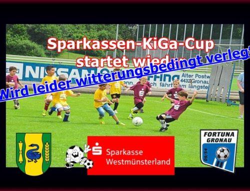 Sparkassen KiGa-Cup wird verlegt