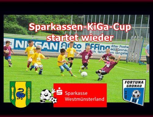 Vorbericht: Sparkassen KiGa-Cup 2017