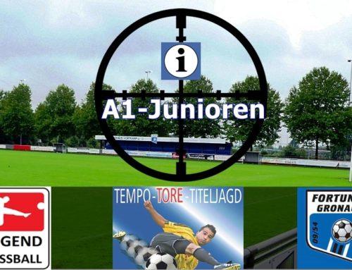 A1 Junioren: Kein Problem im 2. Saisonspiel
