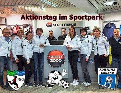 Sport Niehuis mit Aktionstag im Sportpark