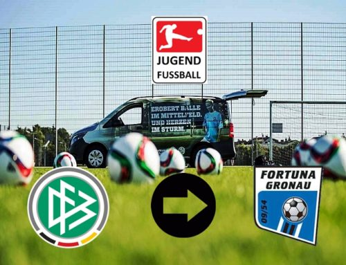 DFB-Mobil macht wieder Station im Sportpark