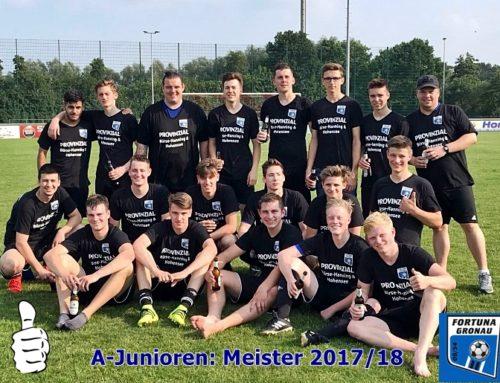 Meisterfoto A-Junioren 2017/18
