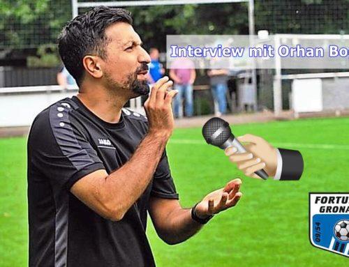 Interview mit Orhan Boga zum Vorbereitungsstart
