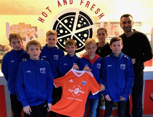 Pizza-House sponsert D1-Jugend
