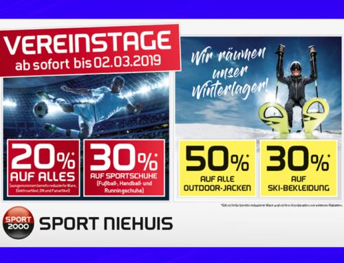 Sport Niehuis wieder mit Vereinstage