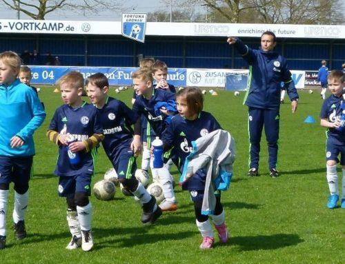 Schalker Knappenschule mit Ostercamp wieder im Sportpark