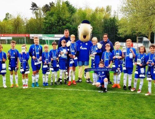 Gelungenes Ostercamp der Schalker-Fussballknappenschule