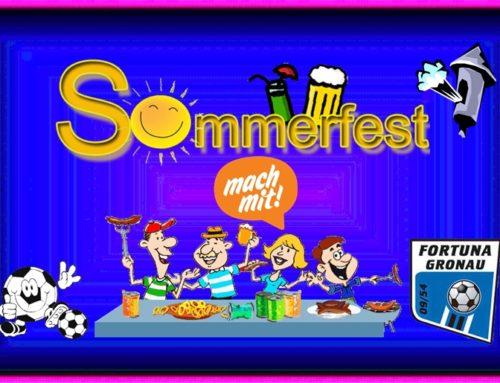 Sommerfest für den ganzen Verein in Planung