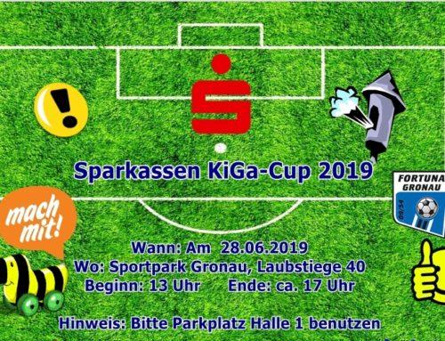 Sparkassen KiGa-Cup steht in den Startlöchern