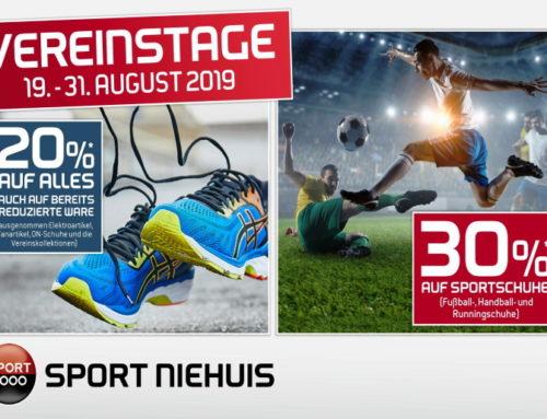 Sport Niehuis bietet wieder Aktionstage an