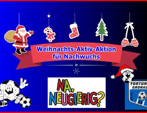 Info: Nachwuchs-Weihnachtsaktiv-Aktion