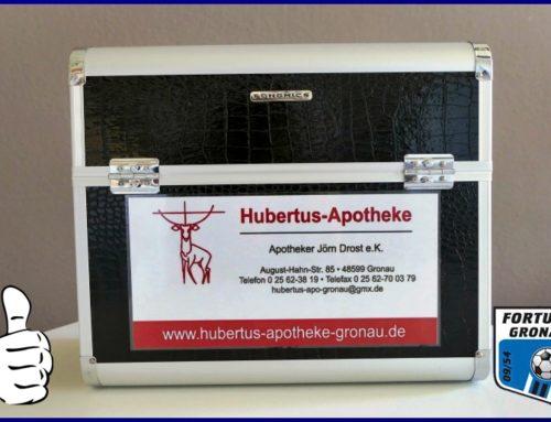 Hubertus Apotheke sponsert Erste-Hilfe Koffer