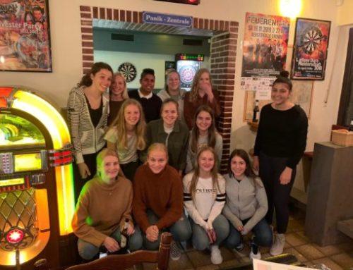 U17 besucht pinball4fun