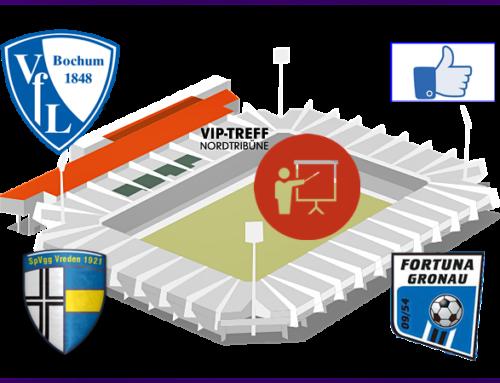 SpVgg Vreden und Fortuna beim VfL Bochum