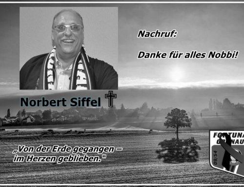 Nachruf: Norbert Siffel verstorben