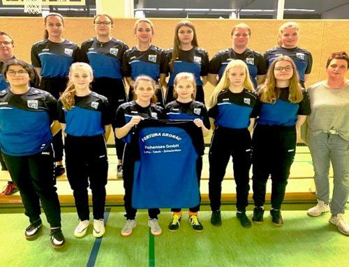 U-15 Junioren mit neuen Shirts
