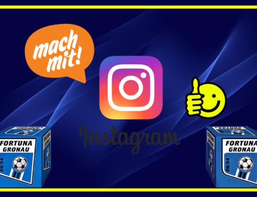 Fortuna nun auch auf Instagram