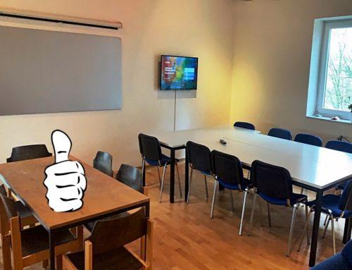 Mannschafts- und Besprechungsraum neu hergerichtet