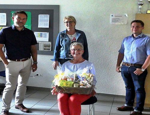 Carola Mielczarek verabschiedet