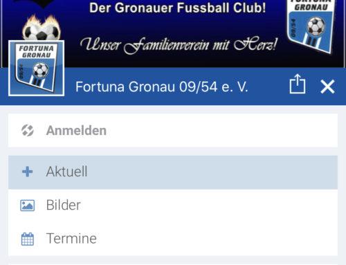 Fortuna Gronau App