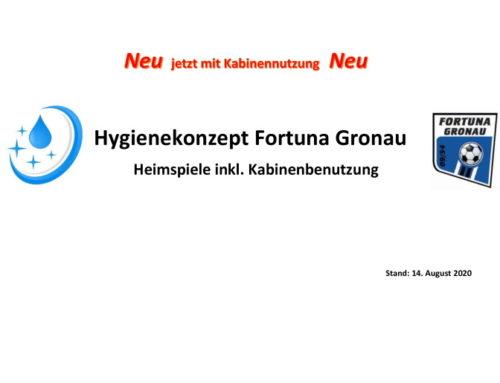 überarbeitete Info: Hygienekonzept für Nutzung der Kabinen/Duschen