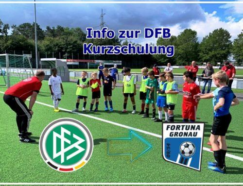 DFB-Lehrgang wieder abgehalten