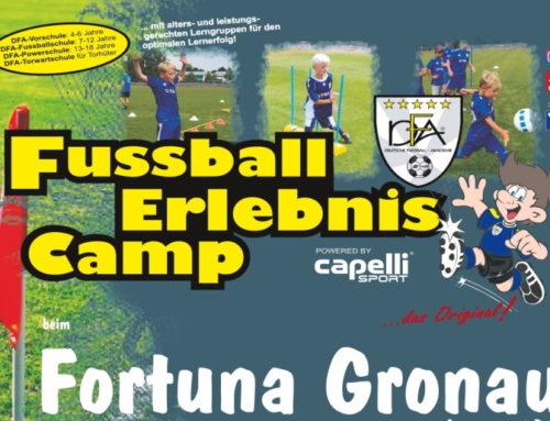 Deutsche Fussball Akademie mit 3. Versuch vor Ostern