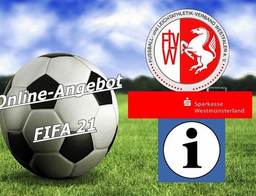 FLVW Angebot: FIFA 21 Online Turnier