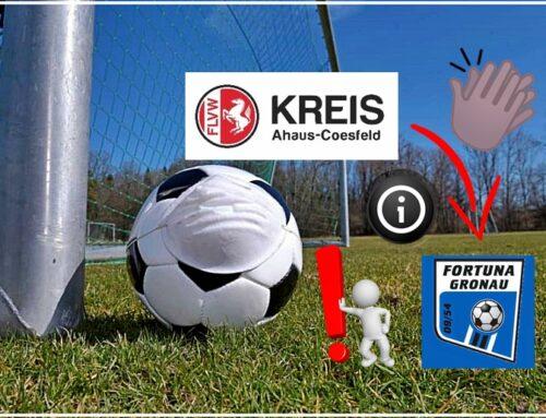 Corona Situation: Aktuelles Merkblatt vom Fussballkreis